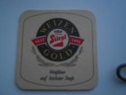 Bierviltje - Stiegl Weizen Gold