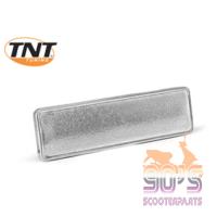 Afdekplaat Framenummer Chroom Yamaha Aerox TNT