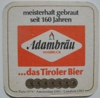 Bierviltje Adambräu