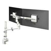 Viewgo monitorarm met 2 armen - Wit BS EN ISO 9241