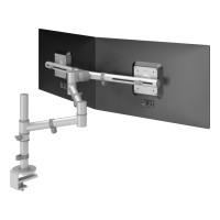 Viewgo monitorarm met 2 armen - Silver BS EN ISO 9241