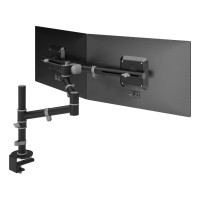 Viewgo monitorarm met 2 armen - Zwart BS EN ISO 9241