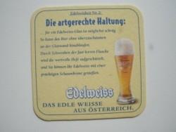 2 bierviltjes Edelweiss