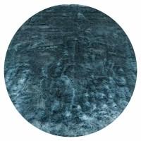 Vloerkleed Donsie Blue Rond ø180 cm