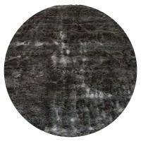 Vloerkleed Donsie Antraciet Rond ø180 cm