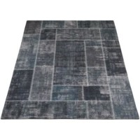 Karpet Mijnen Grijs/Blauw 160 x 230 cm