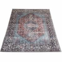 Vloerkleed Madel Rood/Blauw 200 x 290 cm