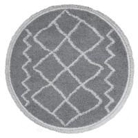 Vloerkleed Marrakesh Grey Rond ø80 cm