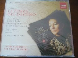 4CD Verdi La Forza del Destino Maria Callas Ricard Tucker..…