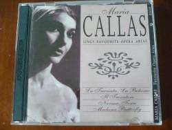 2 CDset Maria Callas sings Favourite Opera Aria's.