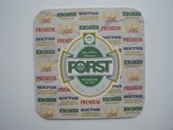1 bierviltje Forst