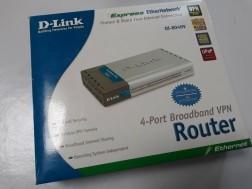 D-Link DI-804HV 4-Port Broadband VPN Router