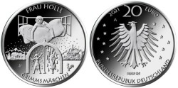 Duitsland 20 Euro 2021 Vrouw Holle