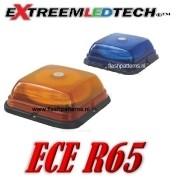 SQ-64 LED Zwaailamp bout montage  ECE R65 - R10 12/24V