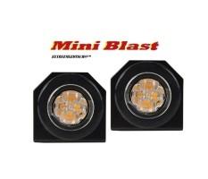 MINIBLAST LED Flitser ECER65 SUPER FEL 12/24V Aanbieding 2…
