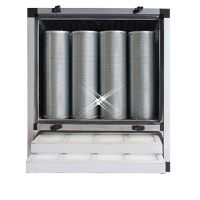 compacte geurfilterkast 1500 m3/h - zonder motor