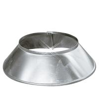 Aluminium stormkraag 250 mm