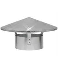Aluminium regenkap 150 mm