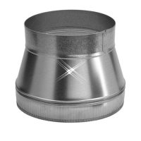 Aluminium verloopstuk 350-200 mm