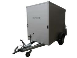 SiriusG255 aluminium255 x 141 x 190, 1300 kggesloten aanha…