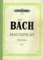 pianouittreksel Magnificat,Oratorium J.S.Bach,latijn tekst