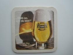 1 bierviltje Zipfer