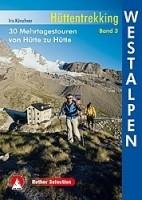 Wandelgids Hüttentrekking Westalpen Band 3   Rother Bergver…