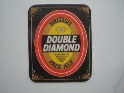 1 bierviltje Double Diamond