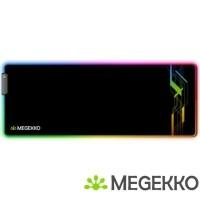 Megekko RGB Gaming Muismat Graphic XXL 800 x 300 mm