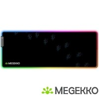 Megekko RGB Gaming Muismat Poten XXL 800 x 300 mm