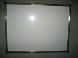 Vergulden fotolijst met glas
