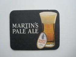 1 bierviltje Martin's Pale