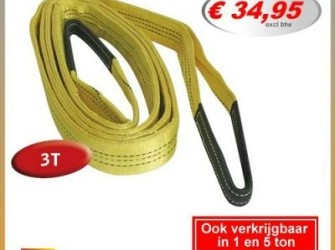 3 ton Hijsband hijsstrop rondstrop hijsbanden 5mtr