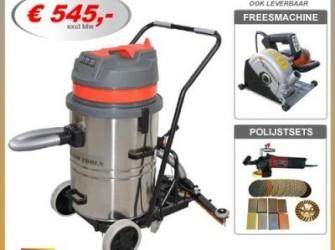 stof waterzuiger stofzuiger vloeistofzuiger 60L