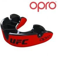 OPRO UFC Mondbeschermer Zilver Rood Zwart Jeugd tot 10 jaar…