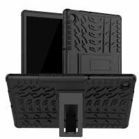 Just in Case Rugged Hybrid Lenovo Tab M10 Plus Case Zwart