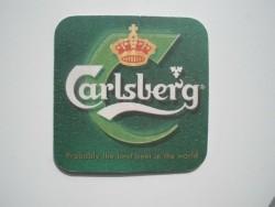 2 bierviltjes Carlsberg