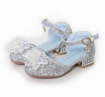 Elsa / Anna schoenen - Zilveren Prinsessen schoenen - Verkl…