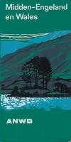 reisgids ANWB Midden-Engeland en Wales (1978)