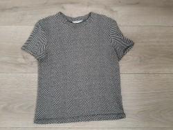 zgan.zwart grijs shirtje Zara mt S