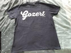 Nieuw donkerblauw Rot-shirt Gozert mt L