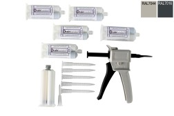 Epoxy kit set voor douchegoten 160 cm lang
