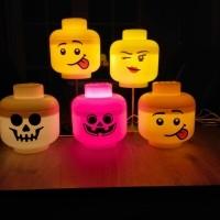Lego lampjes in allerlei maten