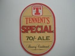 2 bierviltjes Tennent's