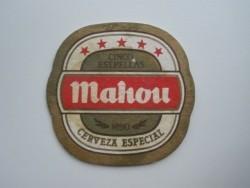 1 bierviltje - Mahou