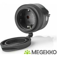 SmartLife Smart Stekker | Wi-Fi | IP44 | 3680 W | Schuko /…