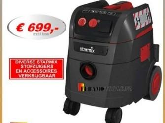 Hepa filter Starmix stofzuiger bouwstofzuigers 35L