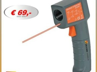Digitale thermometer infrarood temperatuurmeter