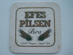 1 bierviltje Efes Pilsen