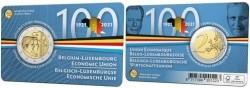 België 2 Euro 2021 'BLEU' Coincard Nederlands